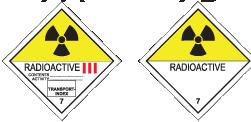 Опасные грузы: Радиоактивные материалы
