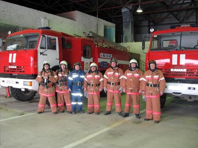 Пожарная охрана предприятий